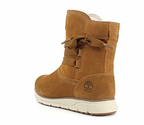 Timberland Leighland Pull-On Waterproof, Bottes Femme Tan Suede