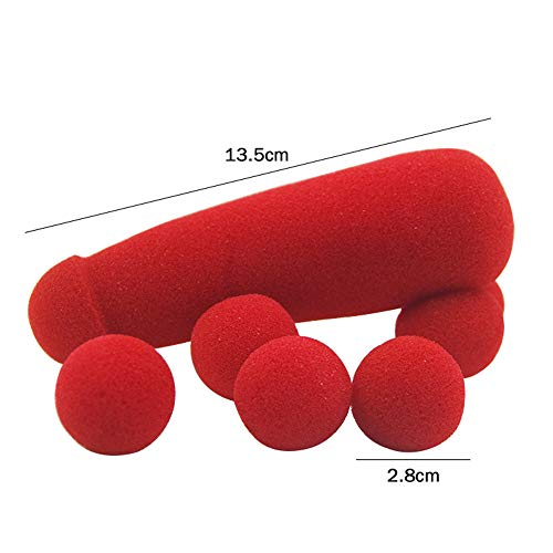 Zoom IMG-2 zizi en mousse rouge