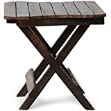 India's Big Shop Wooden Handicrafts Coffee Table/Centre Table Table Size - 12X12X1 inches