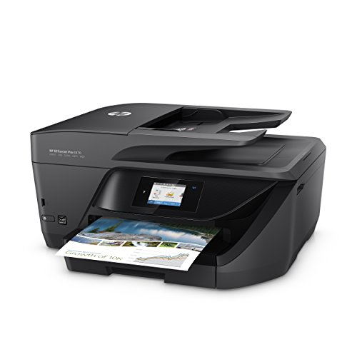 HP OfficeJet Pro 6970 All-in-One Tinten-Multifunktionsdrucker (Drucker, Scanner, Kopierer, Fax, LAN/WLAN) Schwarz
