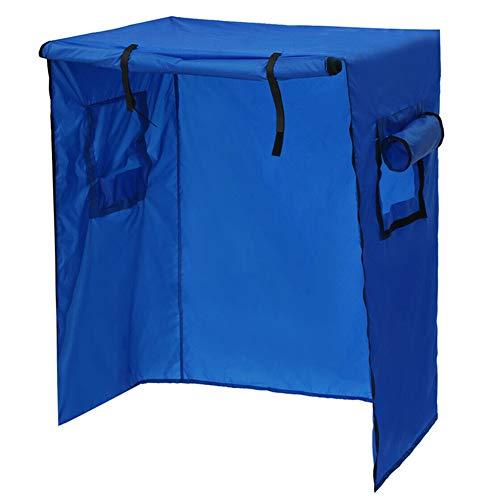 Mahhala Vogelkäfig-Abdeckung für Papageien und Vögel, wasserdicht, leicht, Schutz für Käfige blau