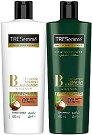 Tresemme Shampoo Botanics 400 ml + Conditioner Botanics 400 ml