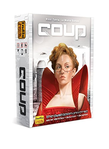 Indie Boards & Cards Coup Card Game