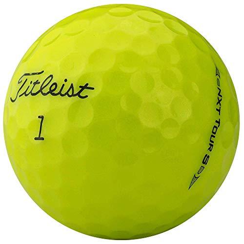 lbc-sports Titleist Nxt Tour S Golfbälle - AAAA - AAA - Gelb - Lakeballs - Modell 2017/2015 - gebrauchte Golfbälle (36 Bälle) -