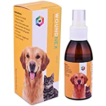Medfly Healthcare Woundnex Wound Healing Fly Repellent Spray for Dogs and Cats, Crafted with Natural Essential Oils