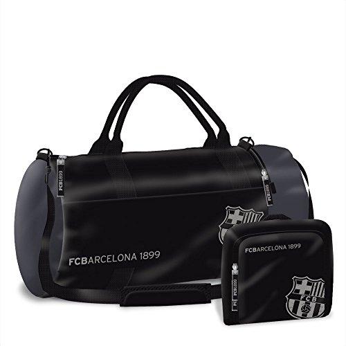 Tasche Fußball-messi (FC Barcelona Sporttasche Reisetasche Fußballtasche 55x28x28cm)