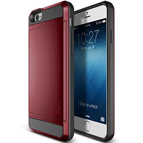 Armour Coque arrière rigide ultra fine pour iPhone, plastique Gel, rouge, iPhone 5/5S rouge