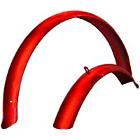 Firmstrong Beach Cruiser Bicycle Fender Set, Front/Rear,