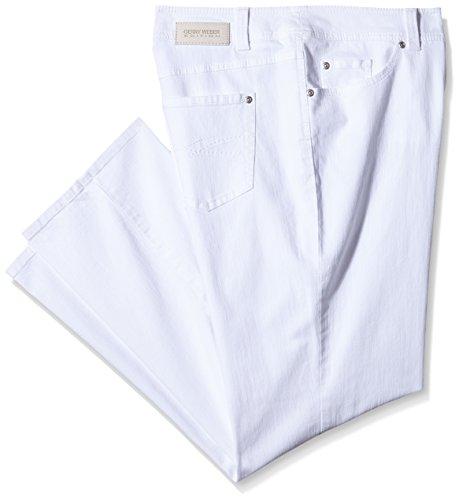 GERRY WEBER Edition Damen Jeanshose Danny Weiß (weiß/weiß 99600)