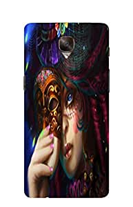 NAV PRINTED BACK COVER FOR ONE PLUS 3