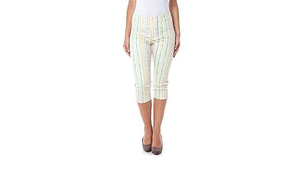 Guess Jeans W1448 P5203 Pantacourt Femme Multicolore 115 26