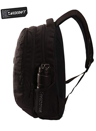 Best wildcraft backpack in India 2020 WILDCRAFT. Polyester 35 L Black Laptop Backpack Image 3
