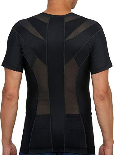 Anodyne Posture Shirt 2.0 - Herren | Haltungsshirt zur Haltungskorrektur | Bessere Körperhaltung | Reduziert Schmerzen & Spannungen | Medizinisch geprüft und zugelassen |