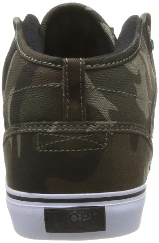 Globe Motley Mid GBMOTLEYM Unisex-Erwachsene Sneaker Grün (green camo 19161)
