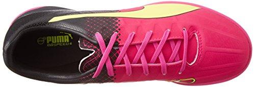 Puma Evospeed 4.5 Tricks It, Chaussures Multisport Indoor homme Rose - Pink (pink glo-safety yellow-black 01)