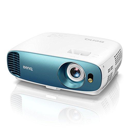 BenQ TK800 DLP Projektor (4K UHD, 3840 x 2160 Pixel, HDR, 92{22684488784ca72e96197dfe1530ed97baf3b96984a65b3463b8b4a71a594365} Rec. 709, 3000 ANSI Lumen, Football Mode, Kontrast 10.000:1, HDMI) Weiß