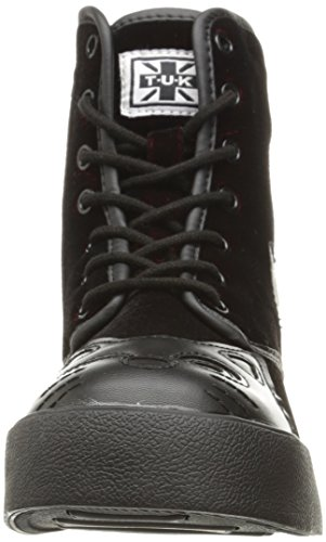 TUK Shoes , Bottes Rangers femme Bordeaux