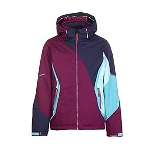 Killtec Mädchen Mayleen Jr Skijacke / Funktionsjacke mit abzippbarer Kapuze und Schneefang