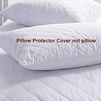coca industries with hi Flipper Hypoallergenic 100% Cotton Satin Pillow Protector Cover Set of 2 pic Combo Colour White (Limited Edition) (18 x 27) (White, 2)