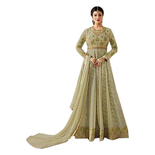 ETHNIC EMPORIUM Damen Bollywood Designer Braut Anarkali Shalwar Kameez Muslim Hochzeit Eid Festive Kollektion Klage-Kleid 724 43481 Wie gezeigt -