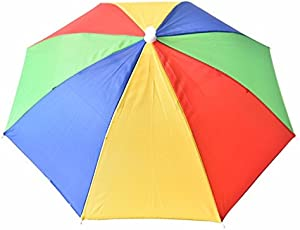 Meher Collection Multicolor Umbrella Rainbow Colors Approx 17 inch Long