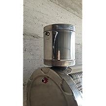 Rodnik inoxidable 5 litros Panel Solar Térmica Agua Caliente Circulación Natural