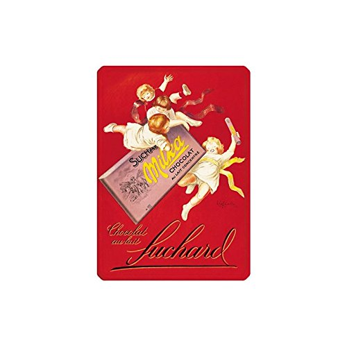 Éditions Clouet 29042 Blechschild, Motiv: Milka Schokolade, 15 x 21 cm