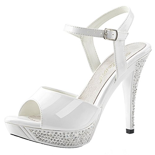 Heels-Perfect Sandales Pour Femme Weiss (weiss)