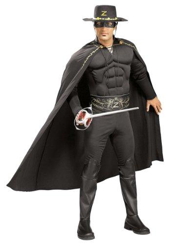 Deluxe Zorro Räuber Kostüm Erwachsene Karneval Fasching Verkleidung (Deluxe Kostüme Zorro)