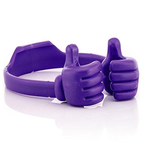 Saxonia Smartphone Tablet Handy Ständer Tisch Halterung universal E-Reader Stand Holder | violett