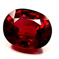 Red natural sapphire stone Weight 10 karat from Burma Size 15.94 x 11.25 x 6.49 mm with salad identification card 9