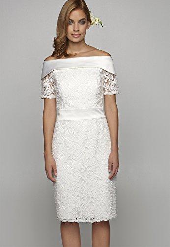 APART Fashion Damen Kleid 64326 Creme -hurotherm.eu