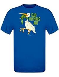 Gib niemals auf Frosch T-Shirt by Shirtcity