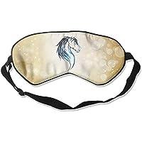 Blue Galaxy Animal Horse Head 99% Eyeshade Blinders Sleeping Eye Patch Eye Mask Blindfold for Travel Insomnia... preisvergleich bei billige-tabletten.eu