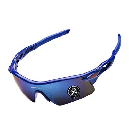 sunshineBoby Outdoor Radsportbrille Fahrrad Sonnenbrille Polarisierte Sonnenbrille-Damen und Herren Mode Driving Sonnenbrille Polarisierte Brille Sport Eyewear Angeln Golf mit Rahmen (Mehrfarbig C)