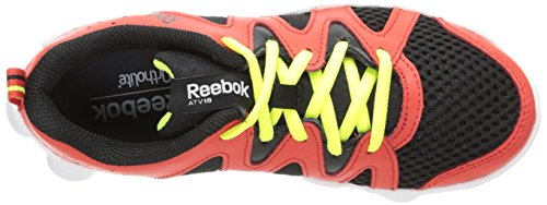 Reebok ATV19 Boom Leder Laufschuh Red/Black/White/Yellow