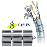 MX 8 WAY CABLE ORGANIZER (TABLE CABLE OR...