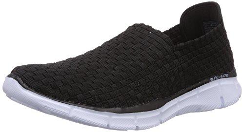 Skechers EqualizerFamiliar, Sneakers basses homme Noir - Noir