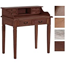 CLP Secreter ALDEN de madera de Caoba. Mueble de estilo rústico y con acabados hechos a mano. Medidas: 99 x 57 x 102 cm marrón