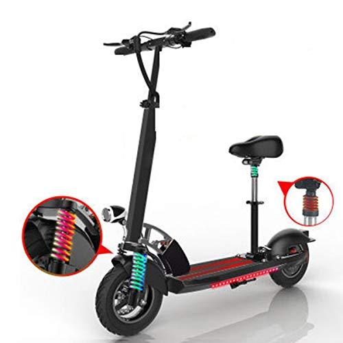 Dapang Elektro-Tretroller für Erwachsene im Offroad-Bereich - Mobilität-Folding-Roller verbesserter Motor, ultraleichter Elektroroller,Black,60km -