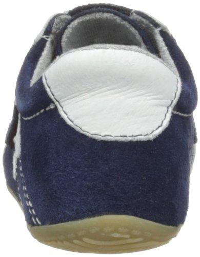 Living Kitzbühel Baby Doppelklettschuh 2511 Unisex-Kinder Hausschuhe Blau (marine 570)