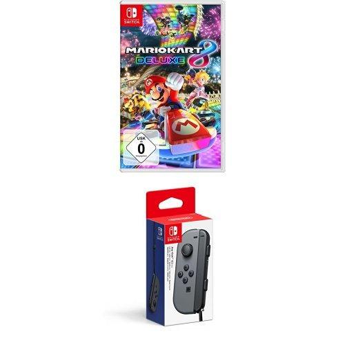 Mario Kart 8 Deluxe +  Joy-Con (L) Grau
