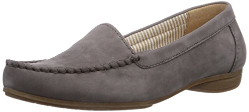 Gabor Shoes Gabor, Mocassini donna Grigio (Grau (fumo))