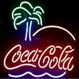 Cola Neon Neonschild Neonleuchte Leuchtschild Nachtlicht Barbeleuchtung sign no LED Neonreklame Werbung Reklame