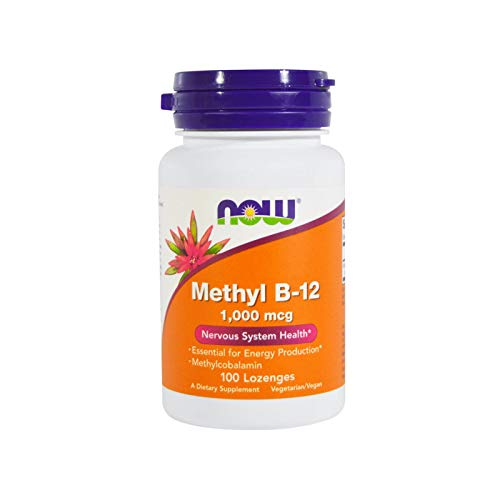 Now Foods, Methyl B-12, 1000mcg, 100 Lutschtabletten (B12 Now Methyl)