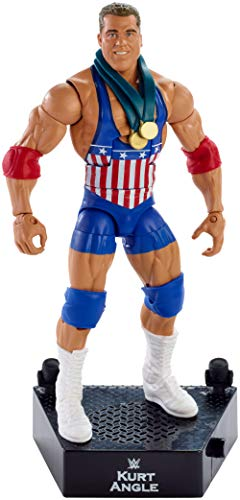 WWE FML09 Entrance Greats Kurt Winkel Actionfigur (Wrestling Wwe Ring)