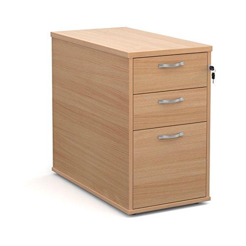 Büro Elefant oe05-r25dh8b 800mm tief Schreibtisch hoch Ständer mit zwei Flache Schubfächer und