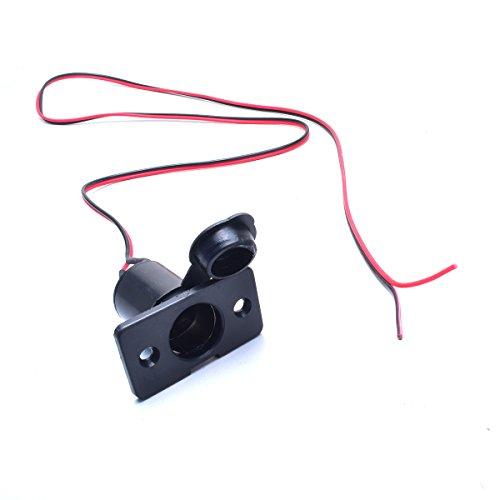 Cocar Cargador Encendedor Cigarrillo Hembra de Hembra Extensión 3.2FT Cable sin Procesar...