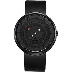 Break Brand Men Women Unisex Unique Geek Cool Wristwatch Rubber Strap Fashion Casual Sports Waterproof Analog Quartz Creative Gift Watches