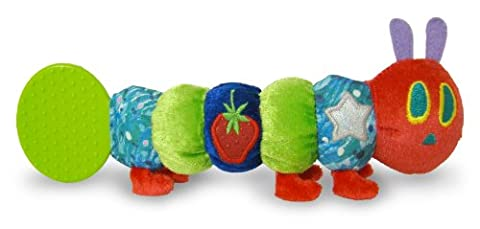 The Very Hungry Caterpillar Teether Rattle, by Rainbow Designs